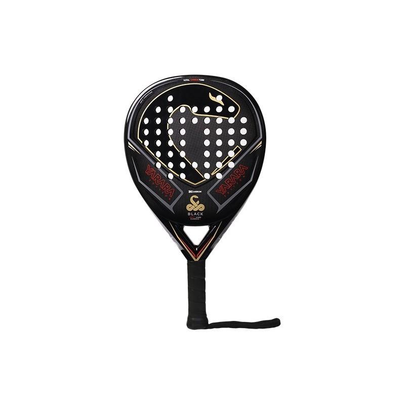 Padel racket Vibor-A Yarara Black 1k