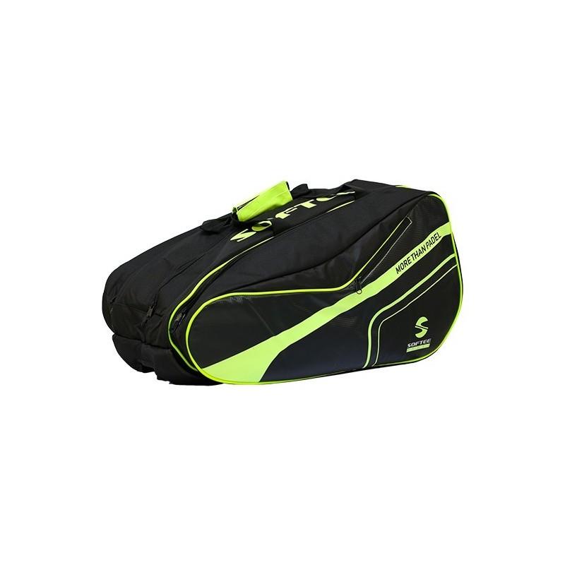 Softee Padel Yellow Pro racket bag