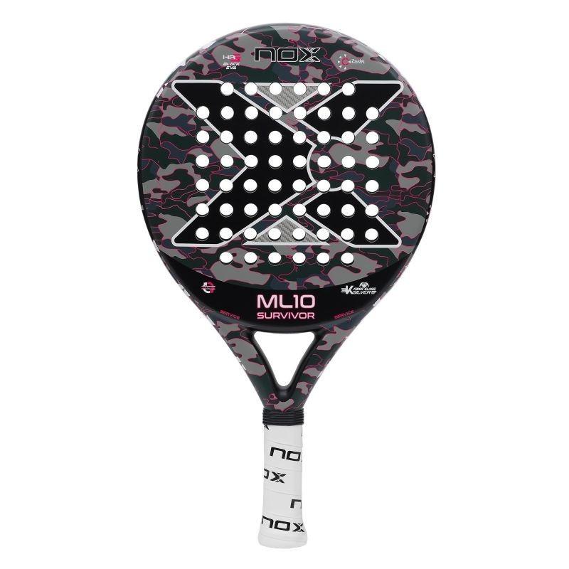 Padel Racket Nox ML10 PRO CUP SURVIVOR Gray