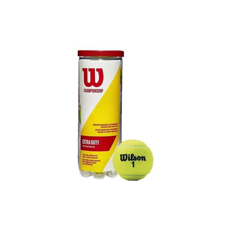 Bote 3 Pelotas De Tenis Wilson Championship