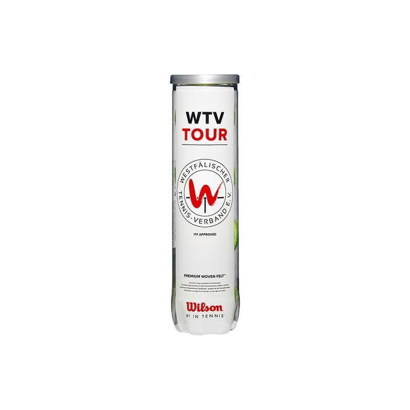 Wilson Wtv Tour Contenitore da 4 Palline