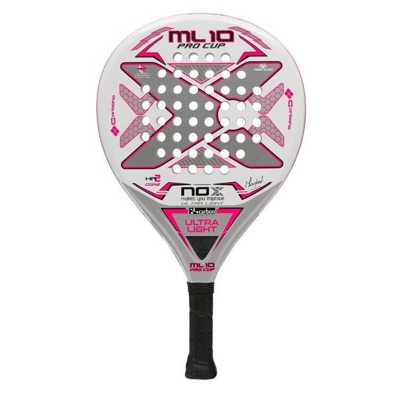 Padel racket Nox ML PRO CUP ULTRA LIGHT SILVER