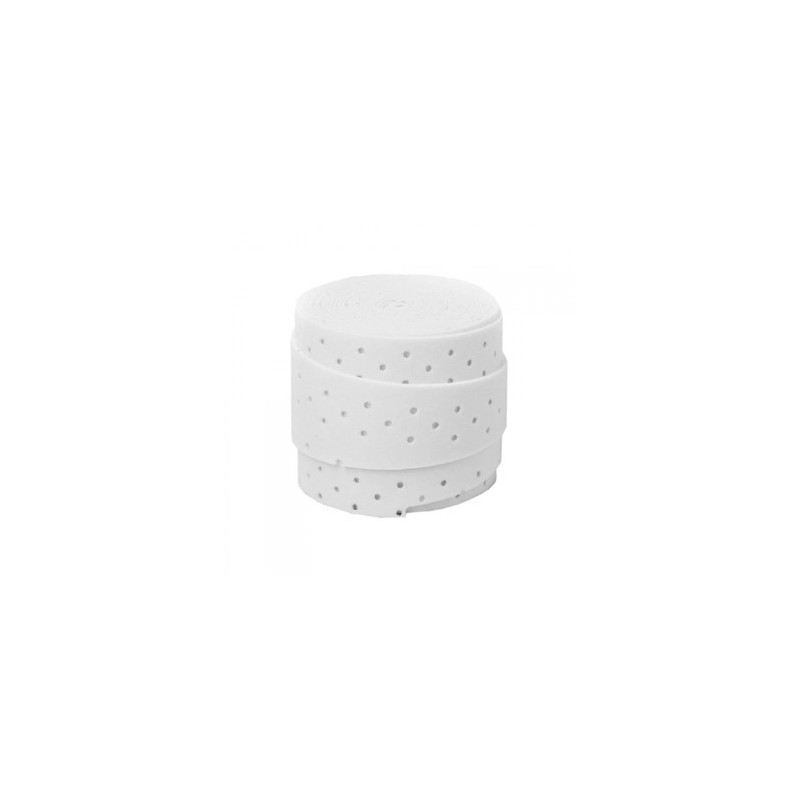 Wilson White Pro Perforated Overgrip -Unit-