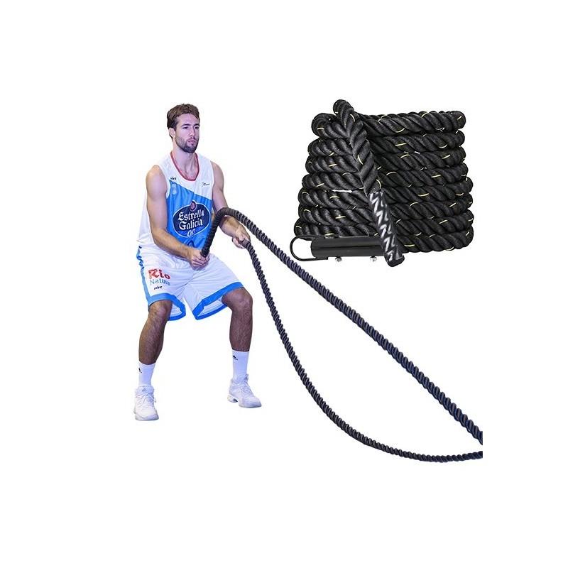 Corda per allenamento funzionale con gancio