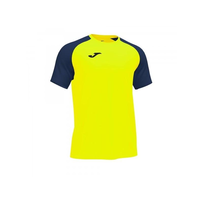 Academy Iv Short Sleeve T-Shirt Fluor Yellow Navy