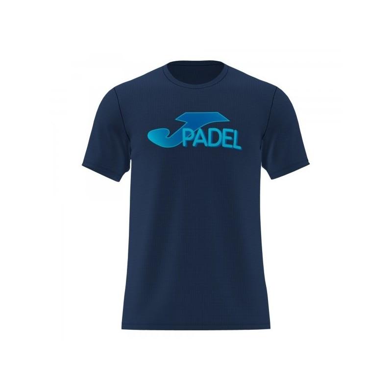 Camiseta Manga Corta Padel Marino