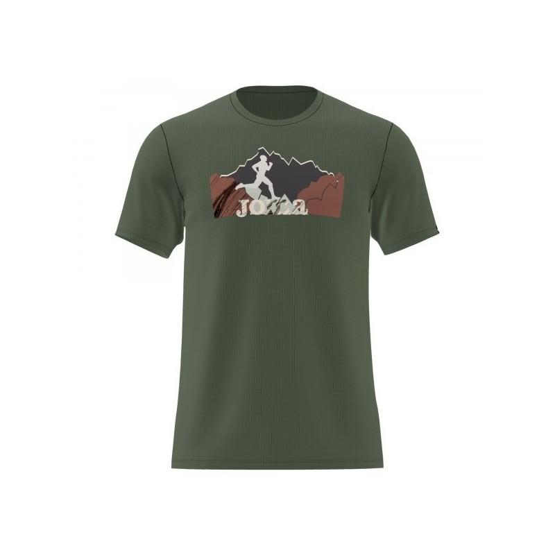 Camiseta Manga Corta Trail Caqui