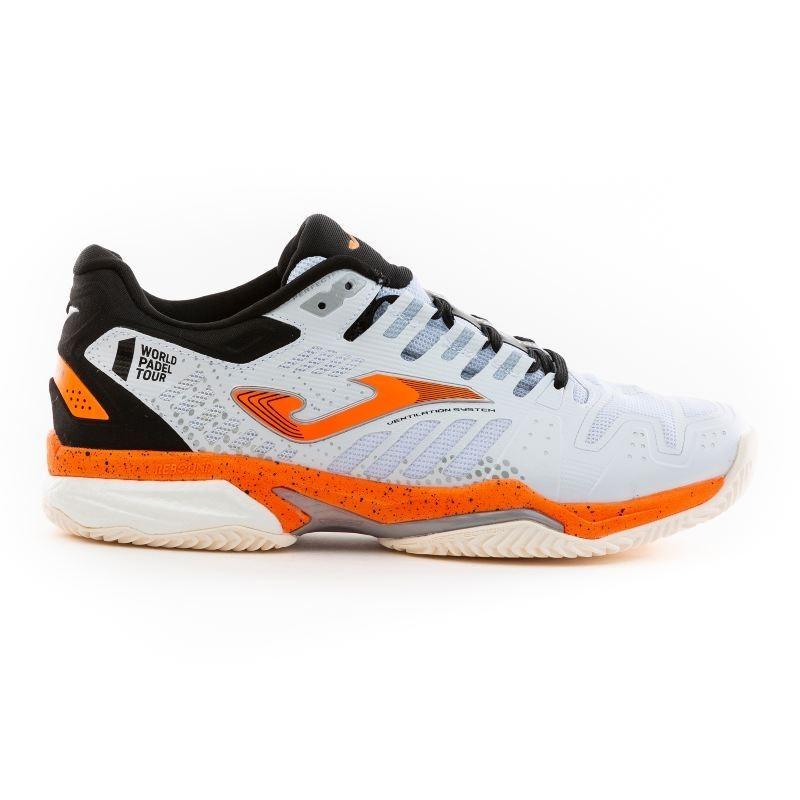 Padel tennis shoes T.SLAM MEN 2002 WHITE