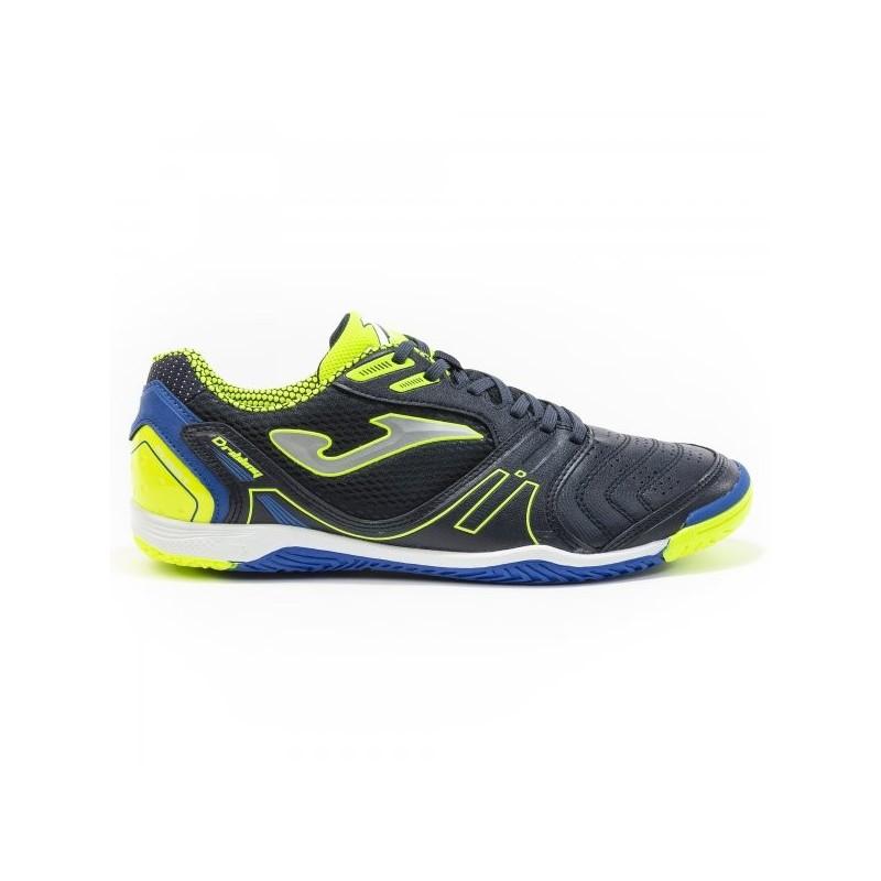 Dribling Navy-Fluor Indoor Shoe
