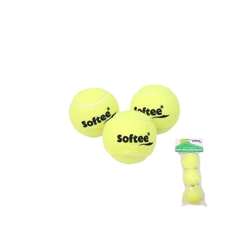 Bolsa 3 Pelotas De Tenis Softee Iniciación Deluxe