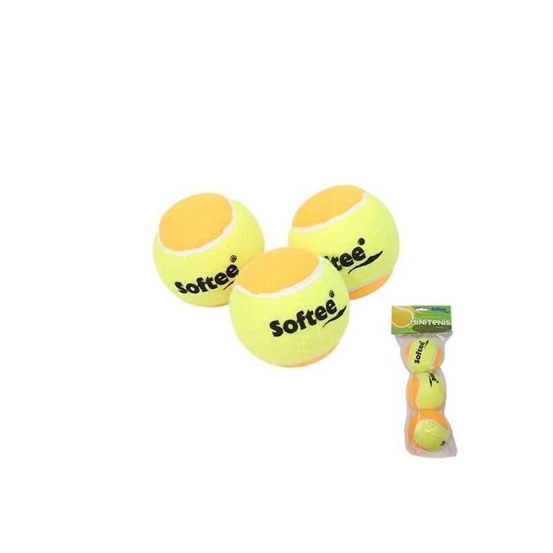 Bag 3 Minitenis Softee Balls