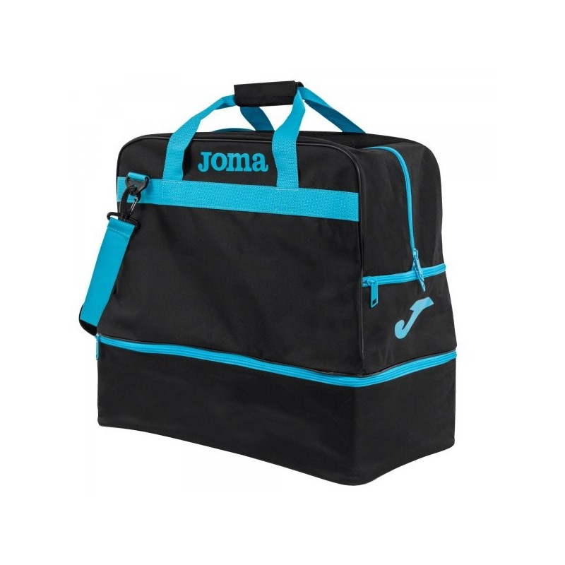 Bag Training Iii Black-Fluor Turquoise -Large-