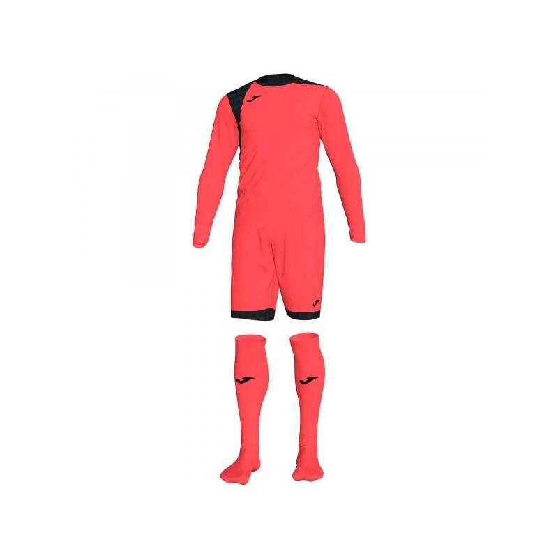 Zamora Iv Goalkeeper Set Fluor Coral L / s