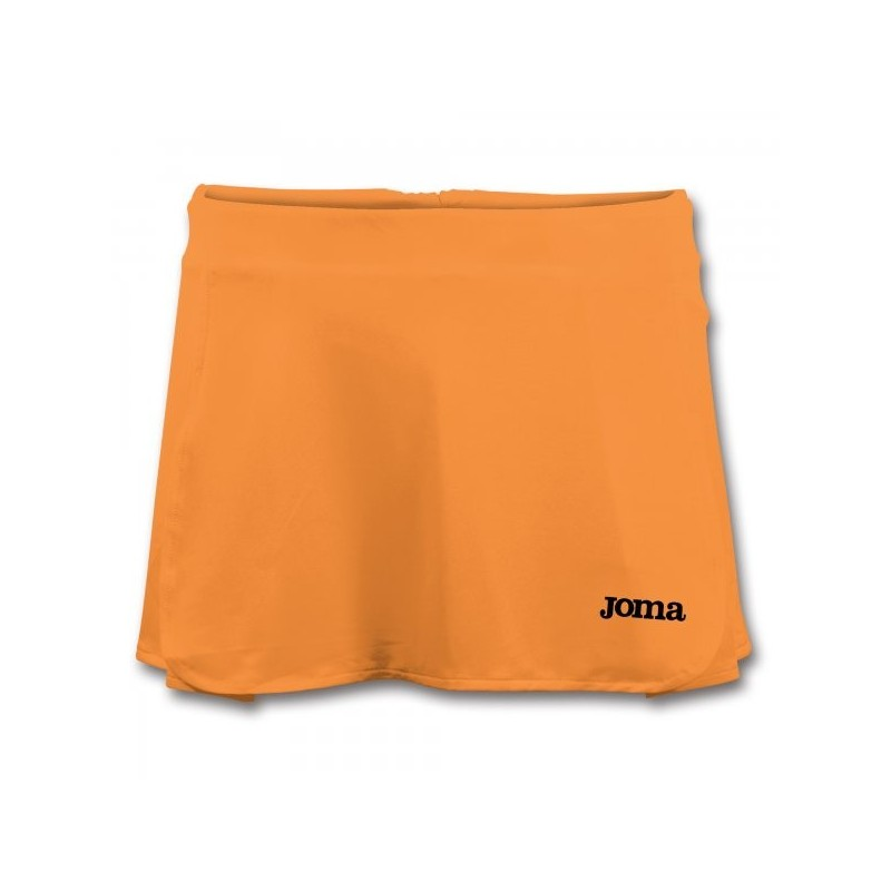 Open Orange Fluor Tennis Skirt
