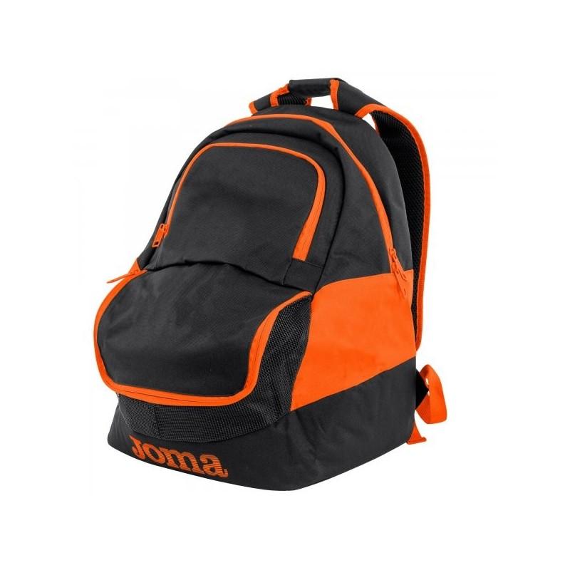 Backpack Diamond Ii Black-Orange