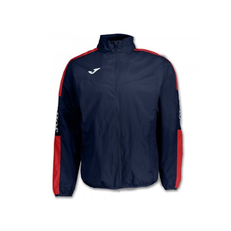 Impermeabile Championship Iv Navy-Rosso