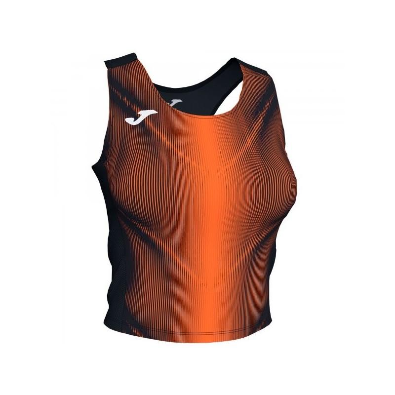 Olimpia Top Black-Orange