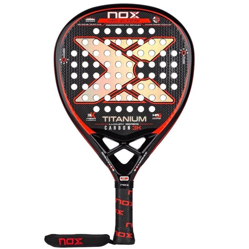 Padel racket Nox Titanium Carbon 3K