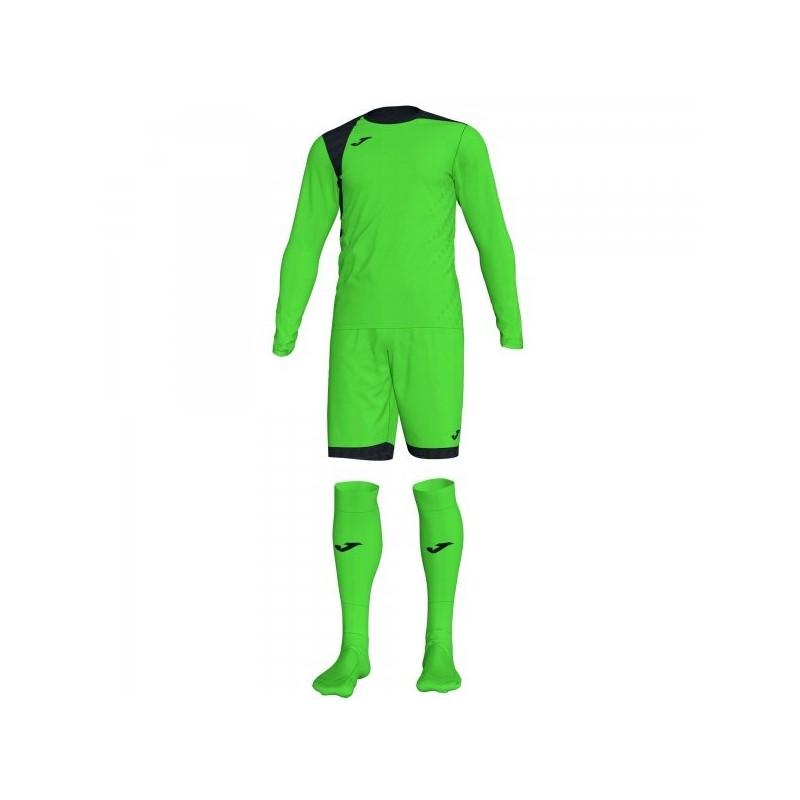 Zamora Iv Goalkeeper Set Fluor Green L / s
