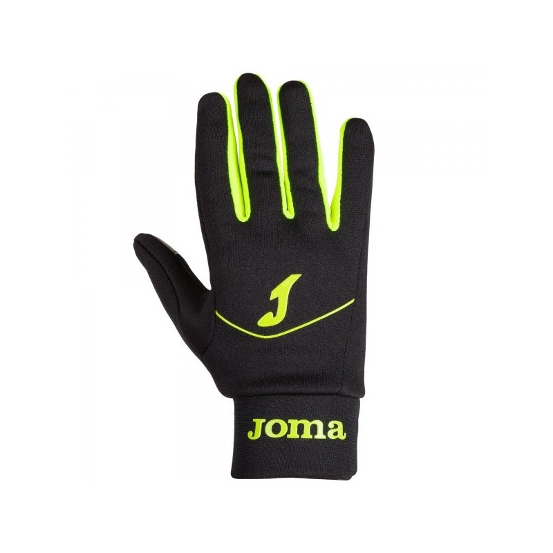 Tactile Running Gloves Black-Fluor Yellow