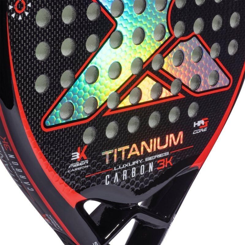 Pádel Nox Titanium Carbon 3K
