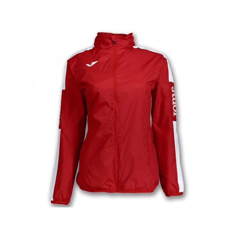 Rainjacket Championship Iv Red-White Woman