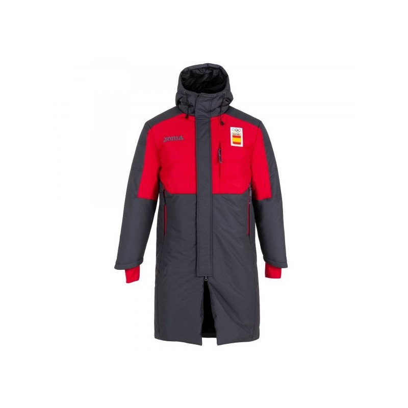 Parade Winter Jacket Coe Red-Gray