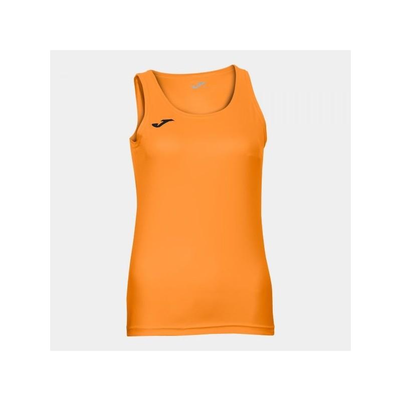 Diana Sleeveless Women Shirt Orange Fluor