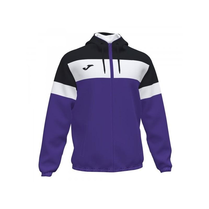 Crew Iv Rainjacket Purple-Black