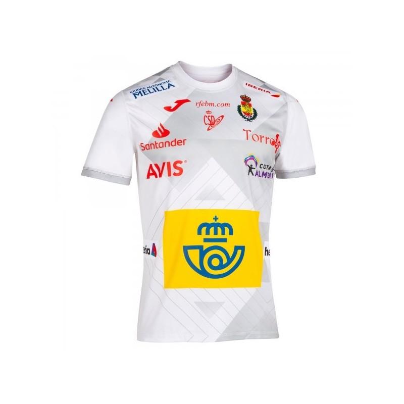 2a Maglietta Pallamano Spagna Bianco S/s
