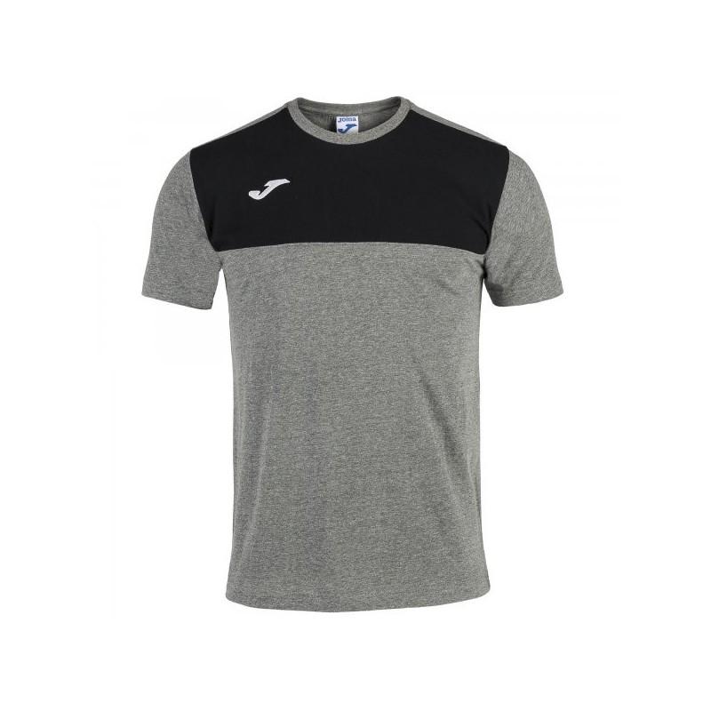 Winnter T-Shirt Melange-Black S/s