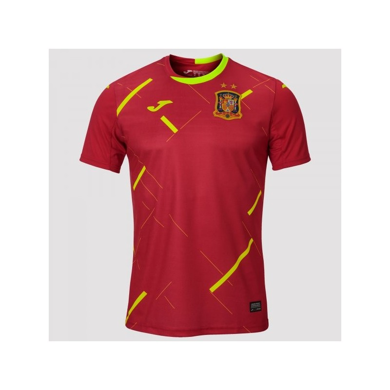 1St T-Shirt Spanish Futsal Red S/s