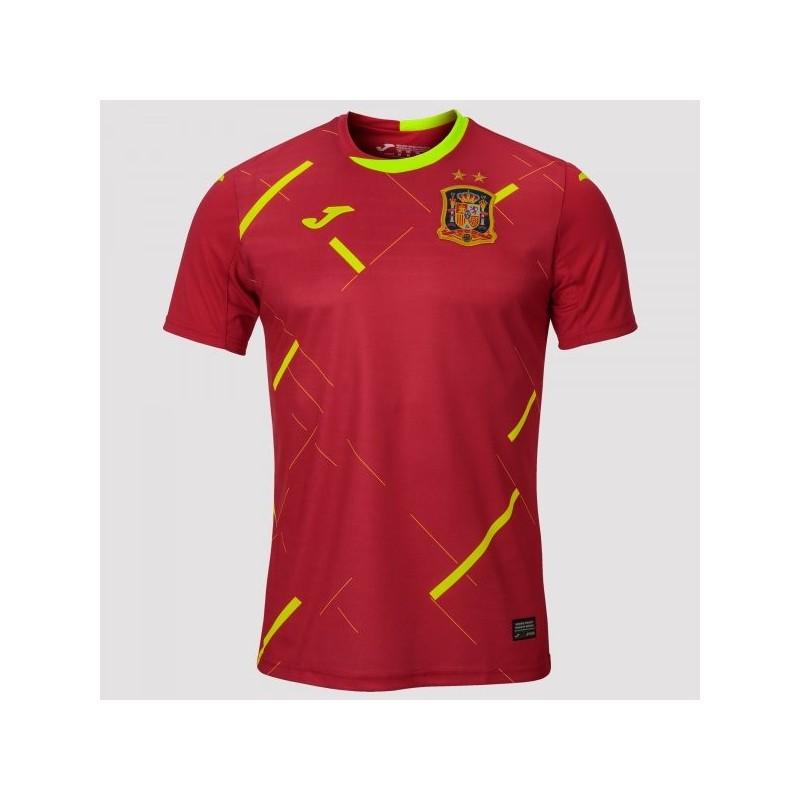Maglietta 1St Futsal Spagnolo Rosso S/s