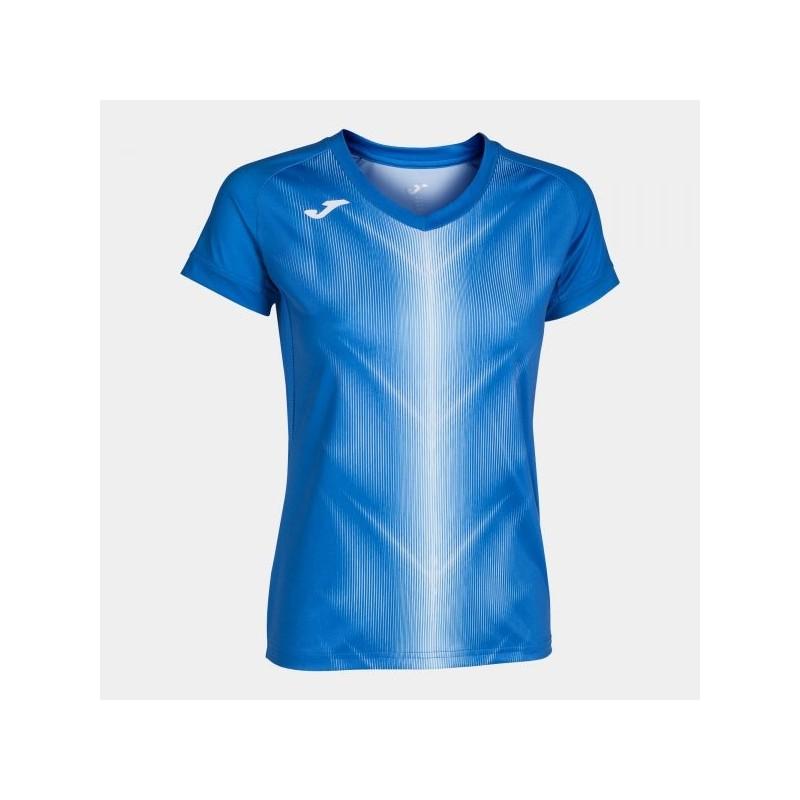 Olimpia T-Shirt Royal-White S/s Woman