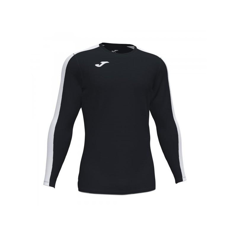 Academy T-Shirt Black-White L/s