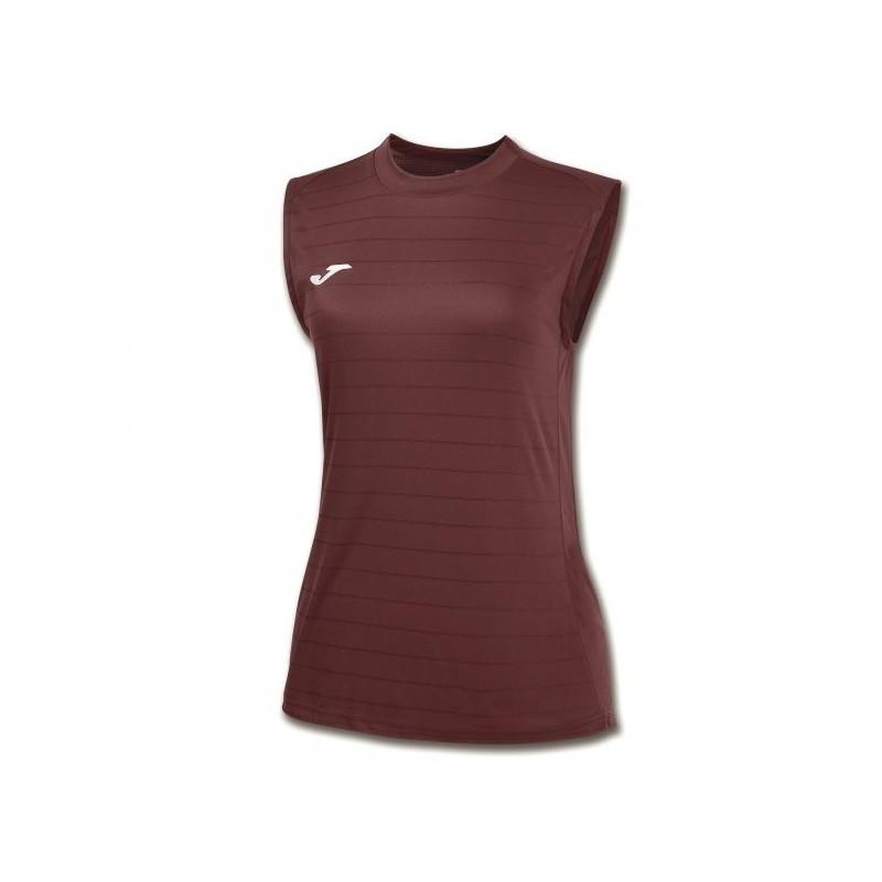 Campus Ii Women Sleeveless Shirt Burgundy