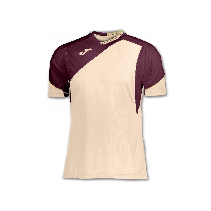 T-Shirt Granada Beige-Wine S/s