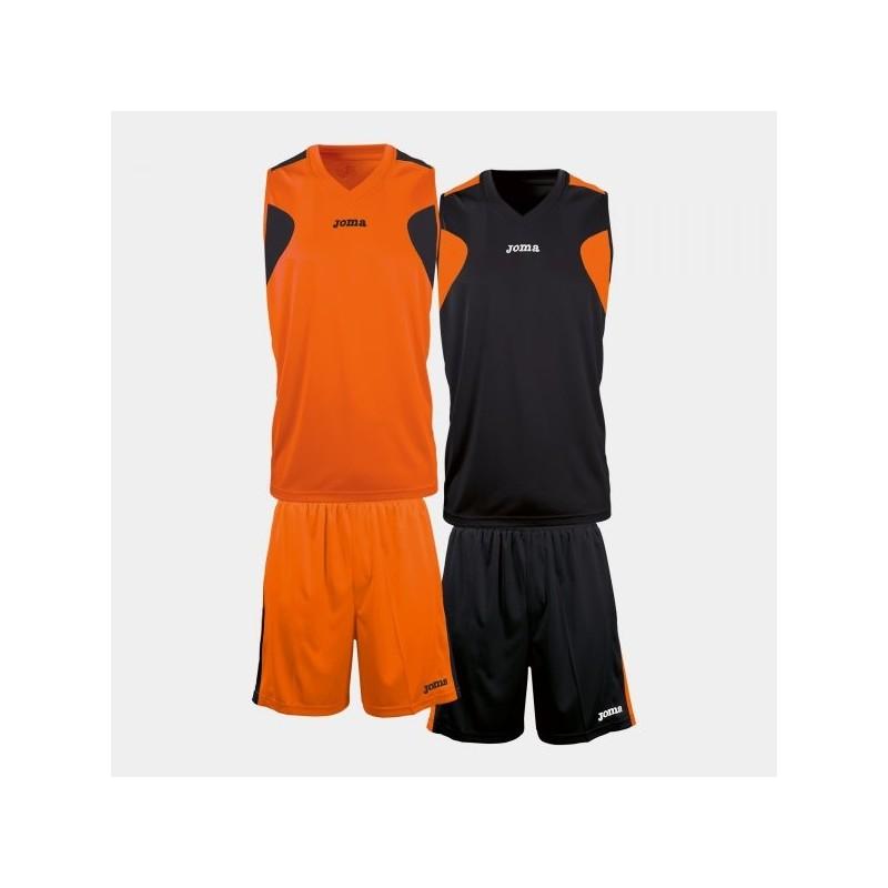 Set Basket Reversibile Nar-Neg Jersey + Short