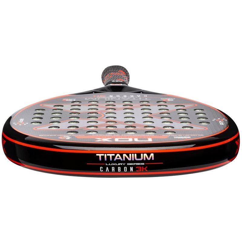 Pala de Pádel Nox Titanium Carbon 3K