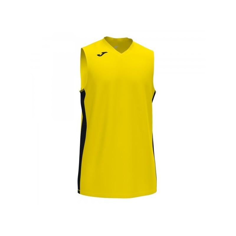 Cancha Iii T-Shirt Yellow-Black Sleeveless
