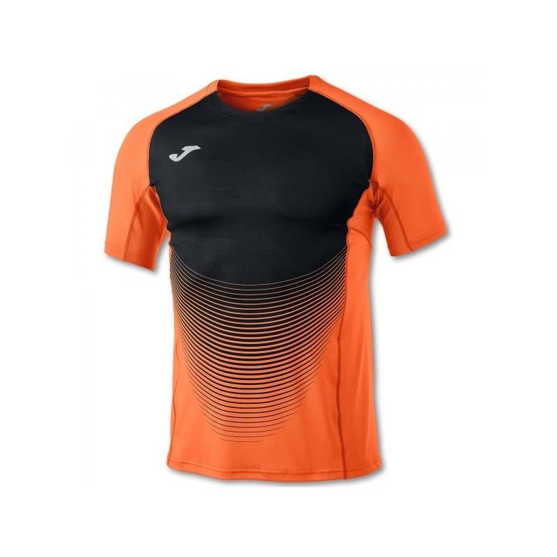 Elite Vi Salmone T-Shirt-Nero S/S