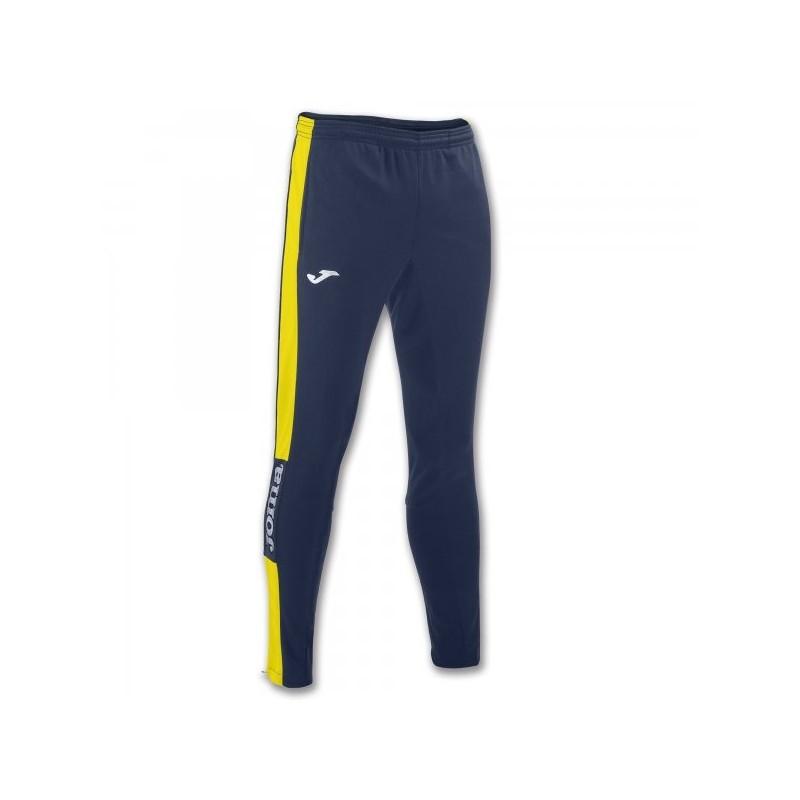 Pantalone lungo Championship Iv Navy-Giallo