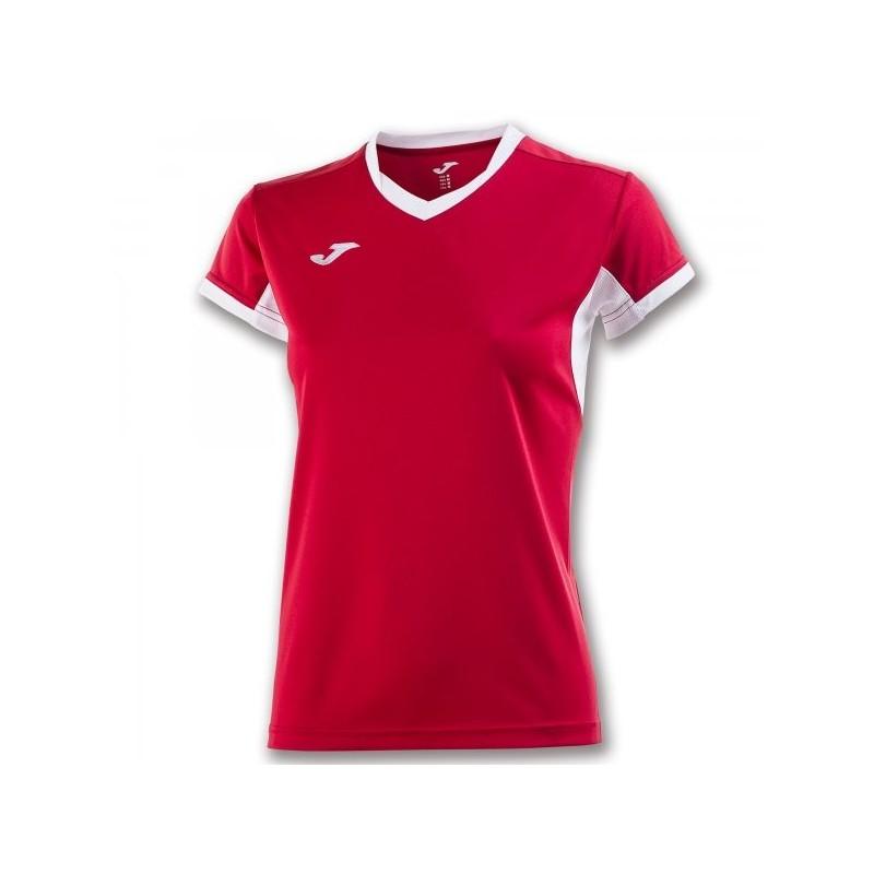 T-Shirt Campionato Iv Rosso-Bianco P/E Donna