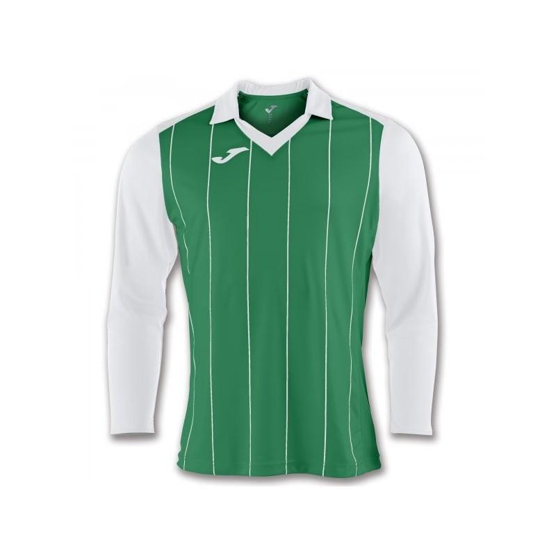 T-Shirt Grada Verde-Bianco L/e