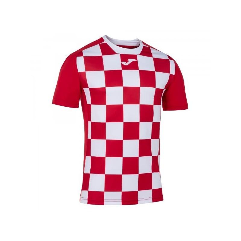 Flag Ii T-Shirt Red-White S/s