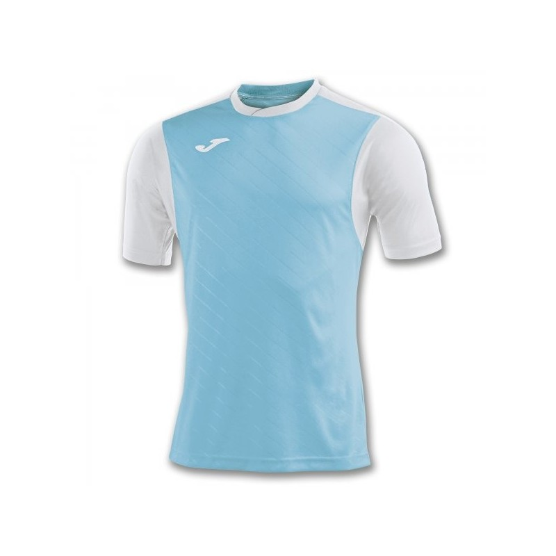 T-Shirt Torneo Ii Turquoise-White S/s