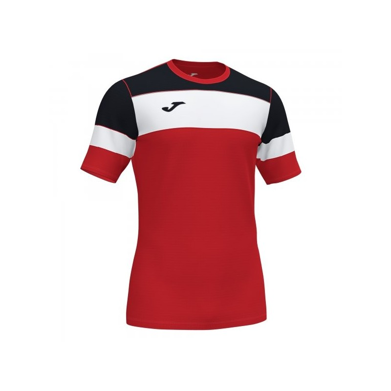 T-Shirt Crew Iv Cotton Rosso-Nero S/s