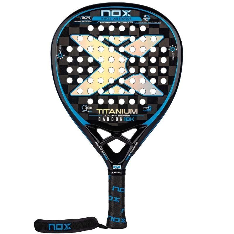 Padel racket Nox Titanium Carbon 18K