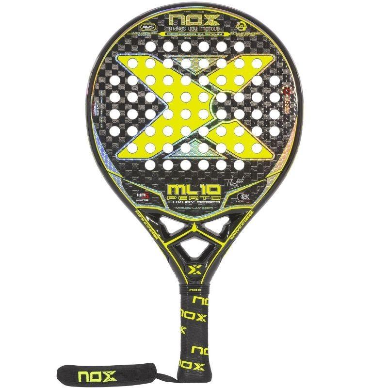 Pala de Pádel Nox Luxury ML10 PERTO